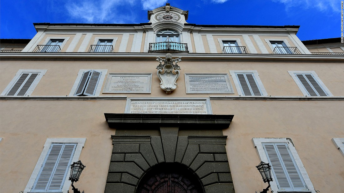 The Apostolic Palace at Castel Gandolfo has been a summer residence and vacation retreat for popes since the 17th century, but Pope Francis has turned it into a museum.