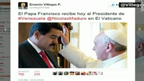 cnnee brk maduro con francisco papa venezuela _00000114