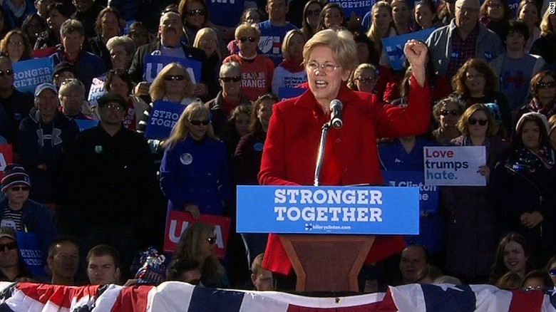 Warren: Women 'have had it' with men like Trump