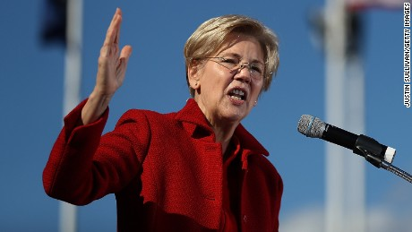 Warren 'troubled' by Obama's big Wall Street speech payday
