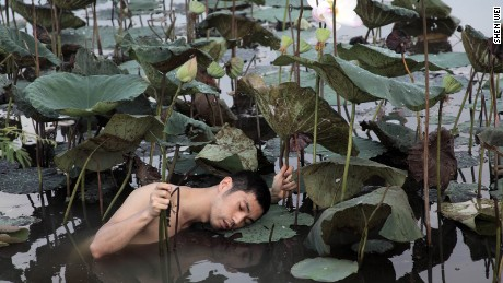 Meet Shen Wei, the Chinese artist who explores the world with no clothes
