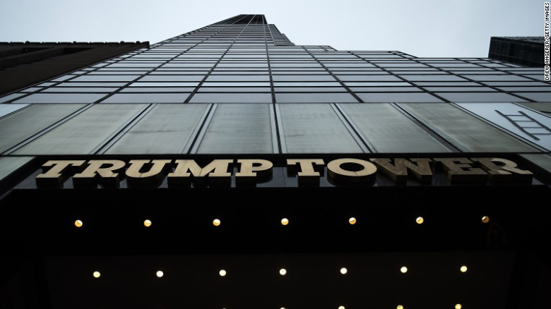 Mapping Trump's New York escape route