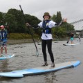 Paddle boarding London