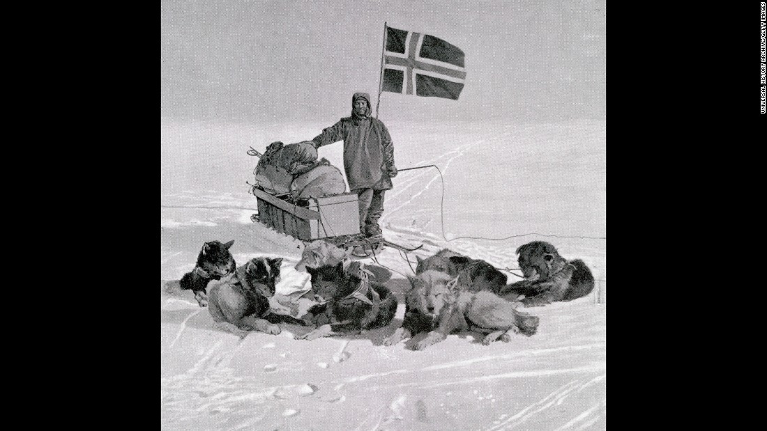 Much has happened since the Cubs' win. Take the first expedition to reach the South Pole. A team led by Norwegian explorer Roald Amundsen arrived in 1911.