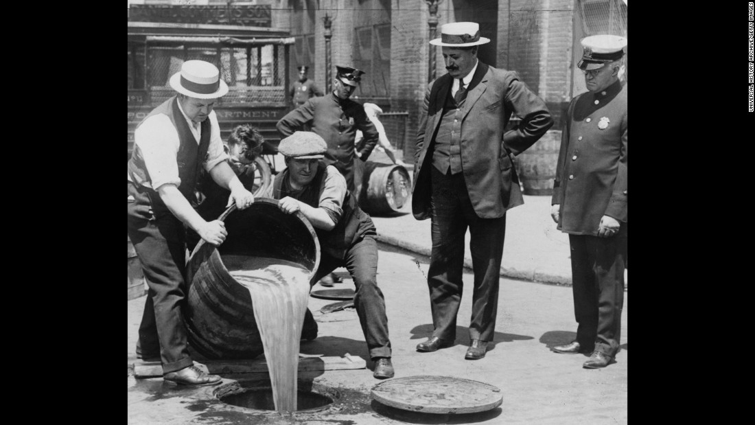 For a time, Cubs fans couldn't legally buy alcohol to drown their sorrows. Prohibition started (1920) and ended (1933) during a dry spell for the team.