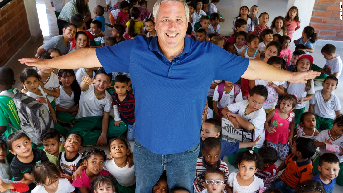 Former Wall Street banker Andy Stein set up the Orphaned Starfish Foundation, which teaches IT skills to kids in orphanages around the world.