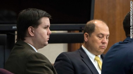 Justin Ross Harris listens to jury selection during his murder trial.