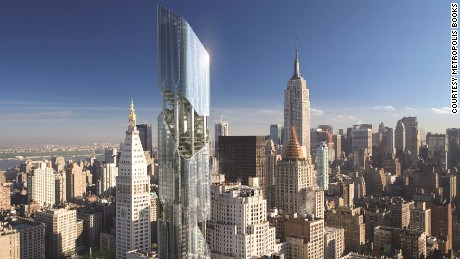 Daniel Libeskind, New York Tower at Madison Avenue (2007)