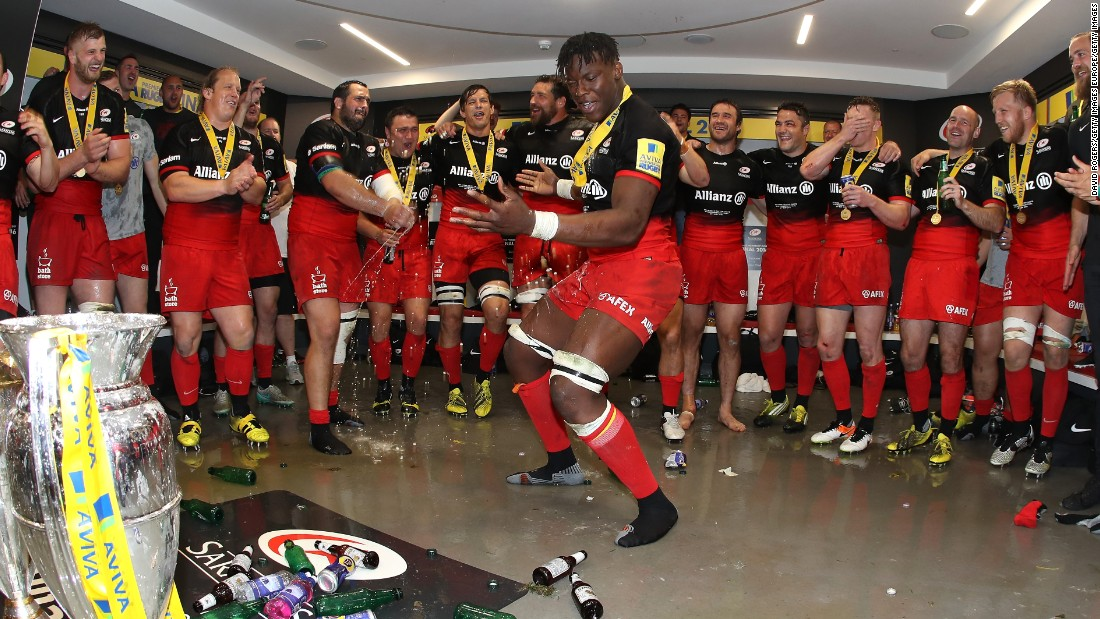Itoje has quickly established himself as a core member of Saracens' squad since making his senior debut in the 2013-14 season.