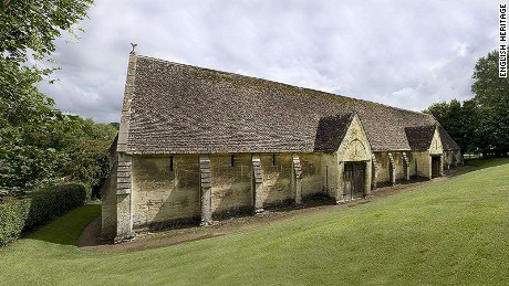 The 14th century Bradford-on-Avon Tithe Barn