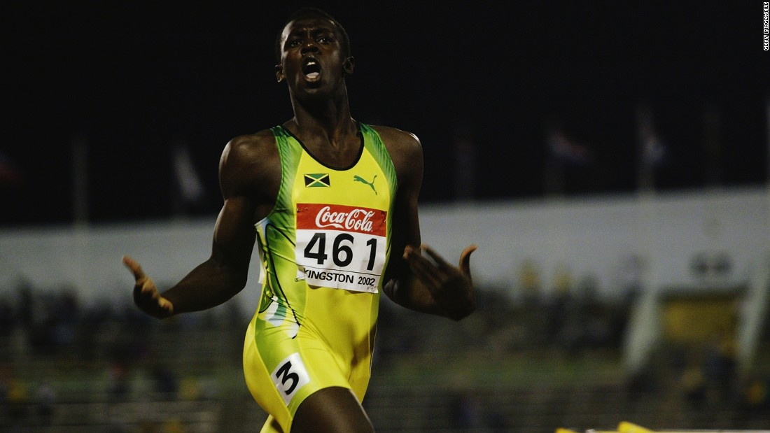 Bolt first rose to prominence at the 2002 world junior championships, winning the 200 meters as a 15-year-old against older rivals.