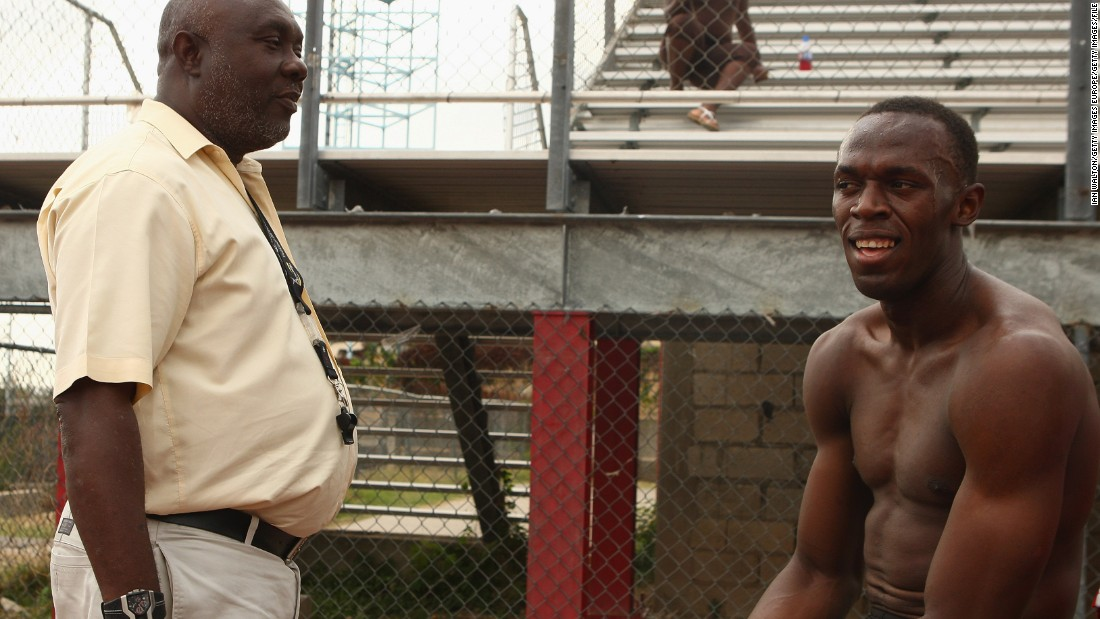 Bolt and Hughes are overseen by Glen Mills, the longstanding head coach at the Racers' Track Club in Jamaica.
