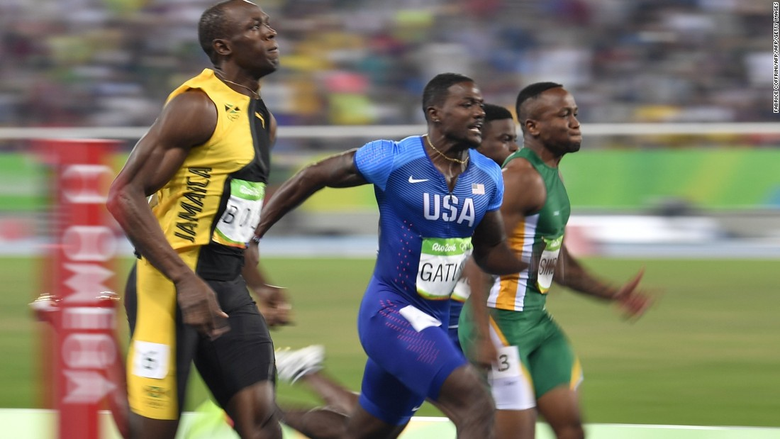 Justin Gatlin, who has come closest to halting Bolt's dominance, likens their rivalry to that of Muhammad Ali and Joe Frazier.