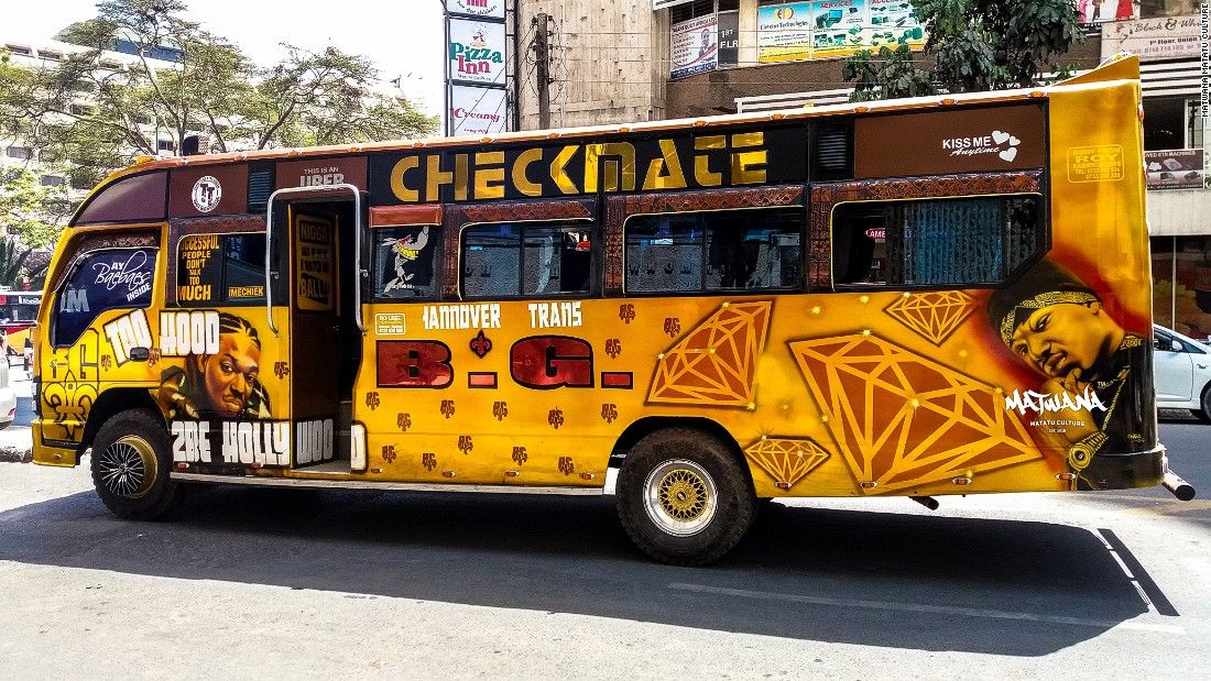 Some consider matatu rides to be loud, reckless and chaotic with 30-odd people crammed inside.