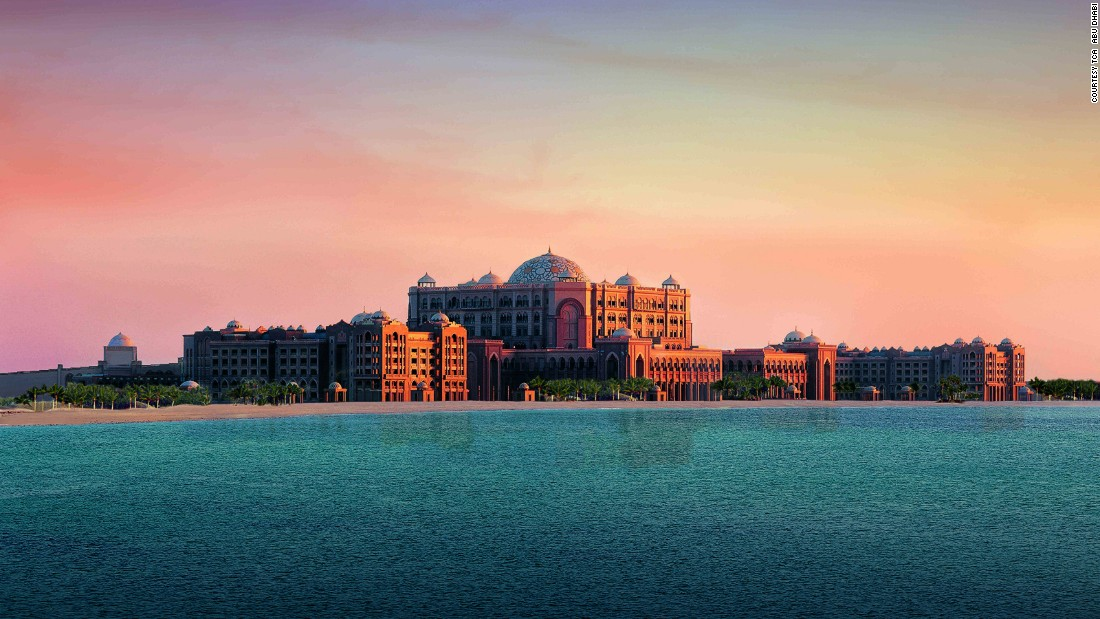 "Abu Dhabi is a modern city with a rich Bedouin history. Here, camel markets, Formula One race tracks and palaces packed with Arabian glamor stand side by side. Among the city's many luxury hotels is <a href=""https://www.kempinski.com/en/abudhabi/emirates-palace/"" target=""_blank"">the Emirates Palace</a>, pictured, which lures customers with Arabian Old World charm, grand suites and a private marina overlooking the bay."