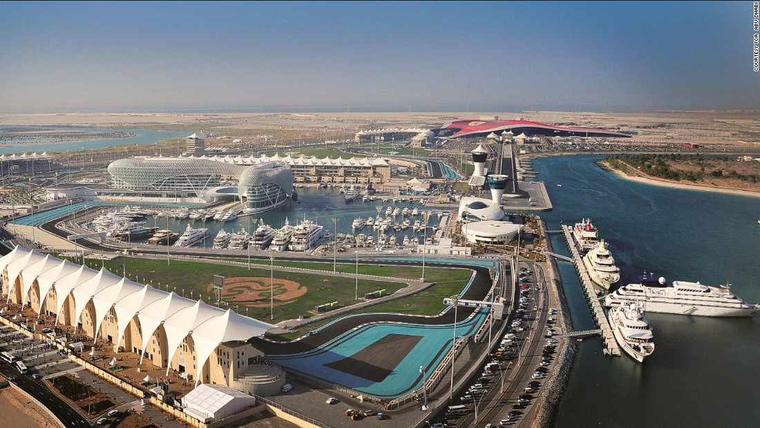 For those looking for something more fast-paced, there's Yas Island, where Abu Dhabi's annual Formula One Grand Prix is held.