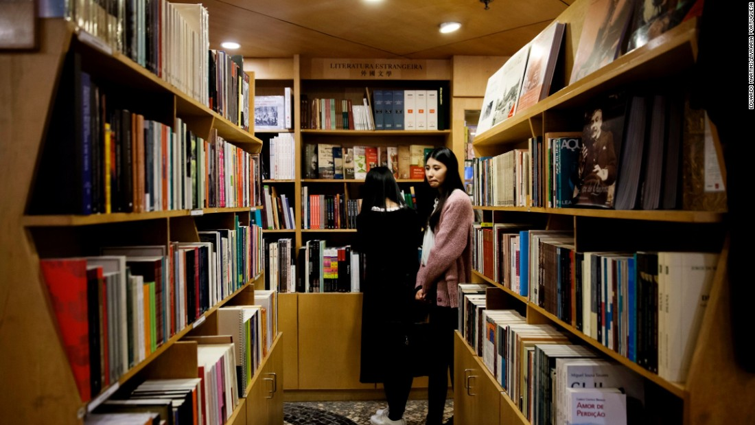 This Macau bookstore is a stubbornly surviving outpost of Iberian language and culture. It stocks surrealist poetry by Fernando Pessoa, Portugal's reigning if reclusive literary giant. It also features photo books on Macau and academic works in English.