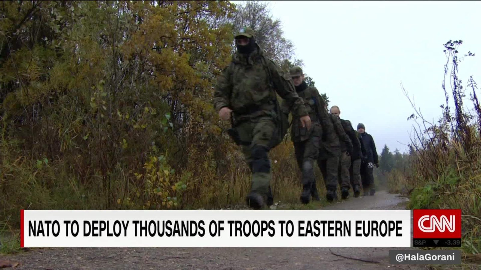 US Troops Heading To Front Of New Cold War With Putin CNNPolitics - Us troops near russia map
