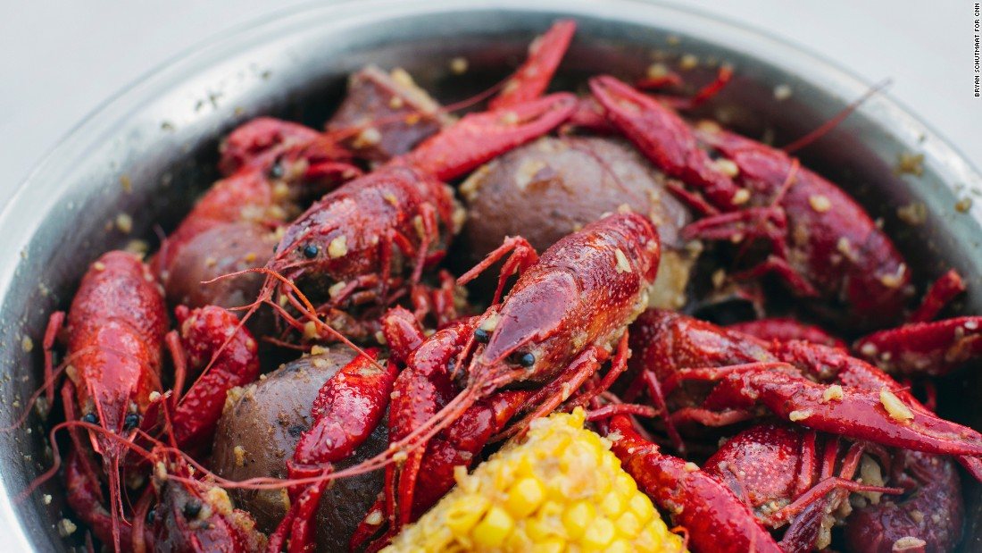 Crawfish Cafe is one of a handful of crawfish purveyors in Houston's Chinatown that blend hints of Asia with the Cajun specialty.