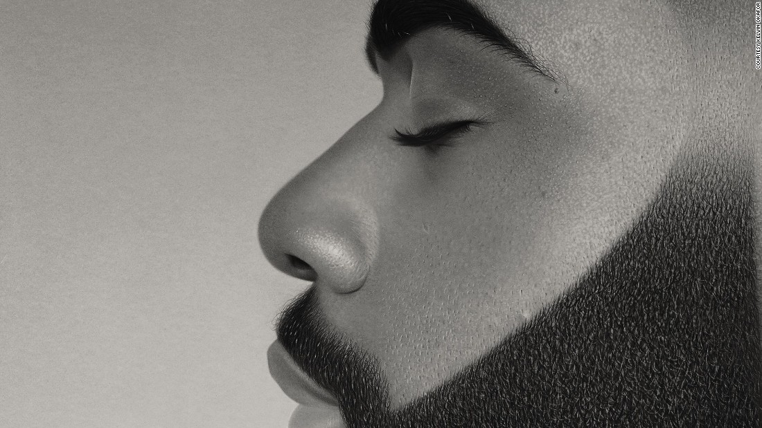 """When I draw someone it's important that they feel comfortable so you can get their natural expressions,"" says Okafor. Of his projects, ""I'll study it, I'll dream about it, but the thing about that is it allows me to draw from memory,"" he told CNN. <br />"
