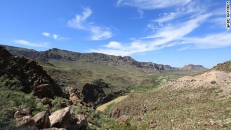 Bend Big National Park along the Texas/Mexico border