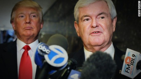 Despite Clinton impeachment vote, Gingrich says President 'cannot obstruct justice'