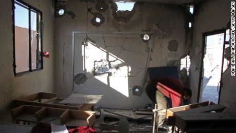 Dozens dead after airstrike hits Syrian school