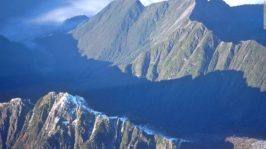 Covering 715,000 acres, Pumalin Park is Chile's largest public park.