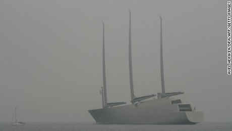 Sailing Yacht A: World's tallest superyacht