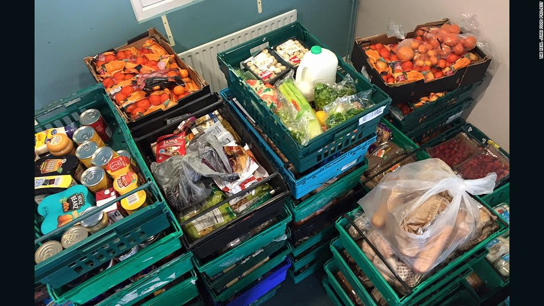 """""""Some [UK supermarkets] are going above and beyond in order to make sure the food gets to us, some are doing the bare minimum to donate unsold food to charities. There is a long way to go,"""" said project founder Adam Smith."""