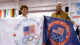 Bela and Martha Karolyi sued by ex-gymnast claiming abuse by doctor