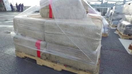 cocaine record haul Coast Guard nccorig_00012704