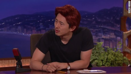conan steven yeun has a post walking dead job _00013202