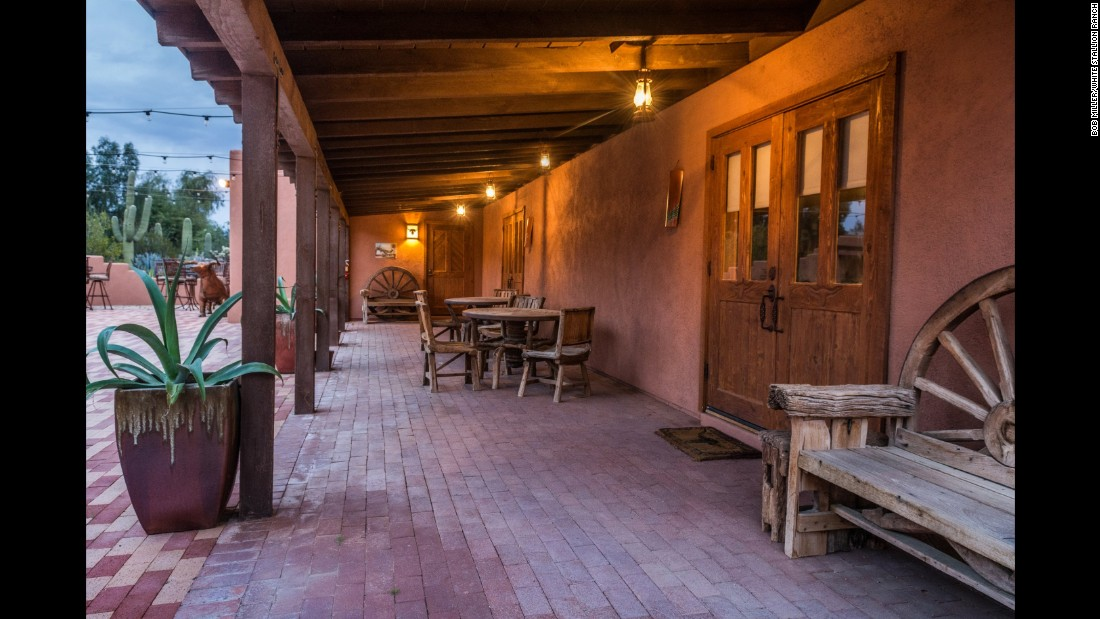 The Historic Hotels of America's New Member of the Year was the White Stallion Ranch (1900) of Tucson, Arizona.