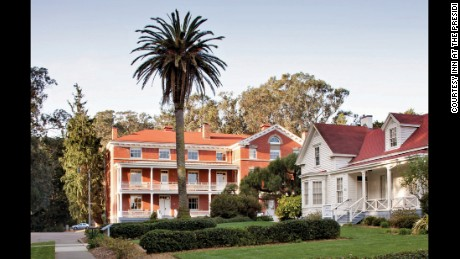 Best Small Historic Inn/Hotel (Under 75 Guestrooms): Inn at the Presidio (1903) San Francisco, California.