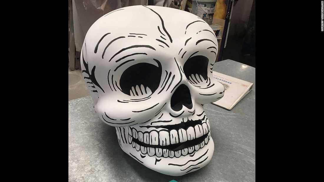 The Day of the Dead celebration dates back to Aztec and pre-Columbian times. It's a celebration of life and the aim is to teach people not to be afraid of death, but to enjoy and take advantage of every moment.