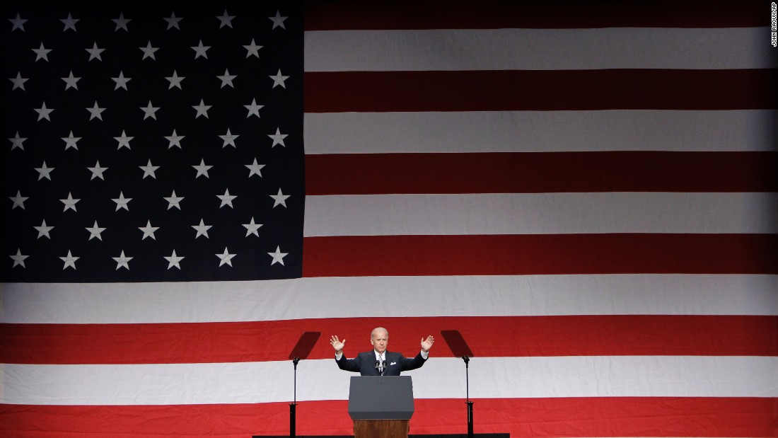 Biden speaks at the convention of Florida's Democratic Party in October 2011. Biden said he and Obama had made progress on fixing problems they inherited from Republicans, but he said the GOP was using obstructionist tactics to keep the administration from doing more for the economy and middle class.