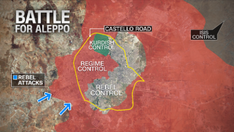 Syrian rebels launch new Aleppo offensive