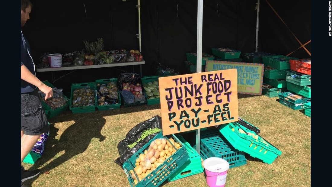 "Started in the UK, <a href=""http://therealjunkfoodproject.org/"" target=""_blank"">the Real Junk Food Project</a> is another freegan project responsible for a global network of more than 120 ""pay what you feel"" cafés."