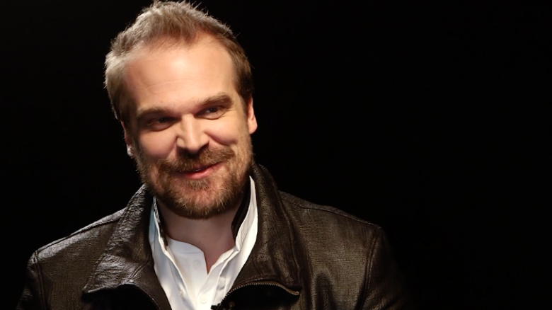 David Harbour scared the 'Stranger Things' kids
