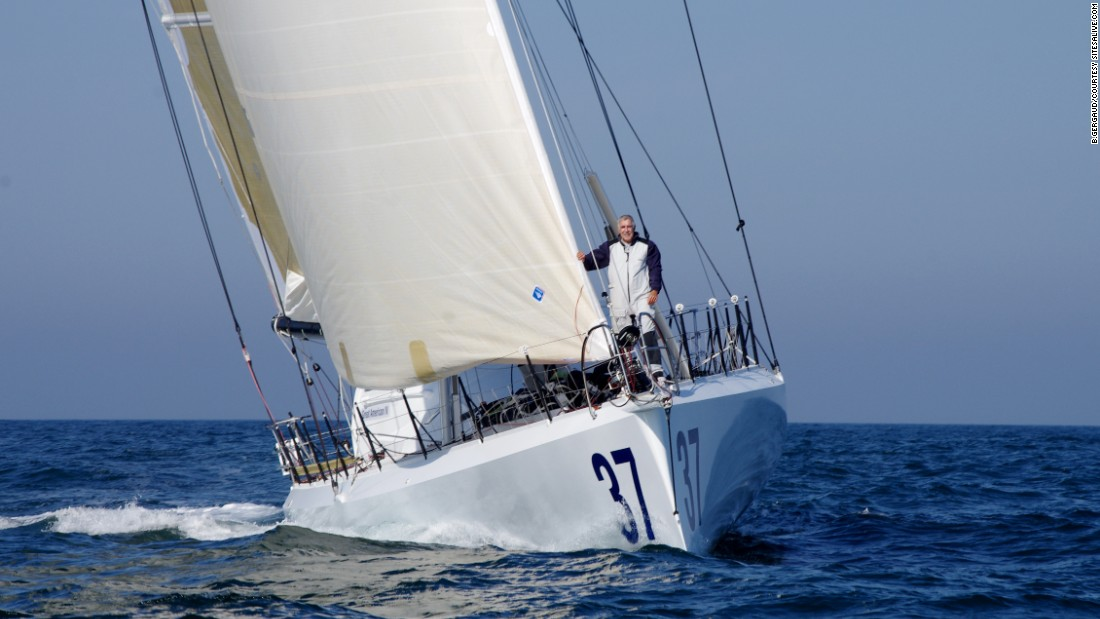 Rich Wilson is entering the Vendee Globe race for the second time -- now at the age of 66.