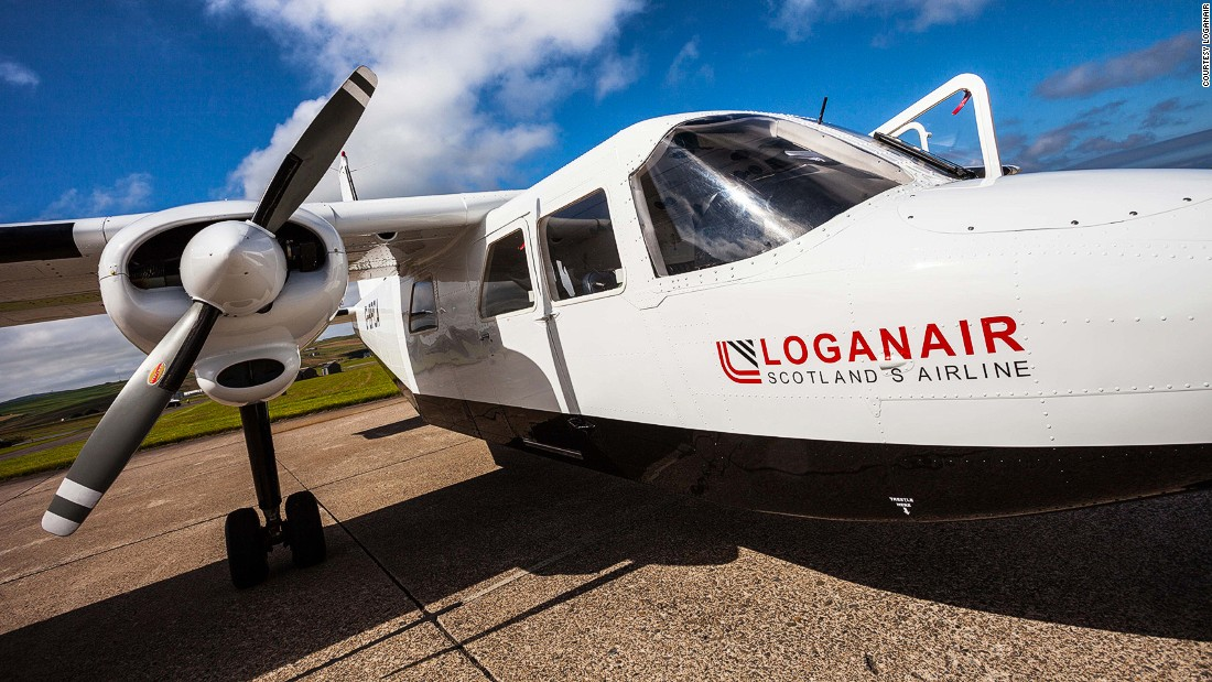 Scottish airline Loganair has been running an air bridge between the Orkney islands of Westray and Papa Westray for nearly 50 years, making it the shortest nonstop regular flight anywhere in the world.