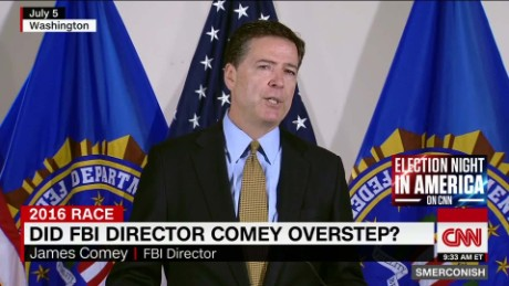 Did FBI Director Comey overstep? _00013524