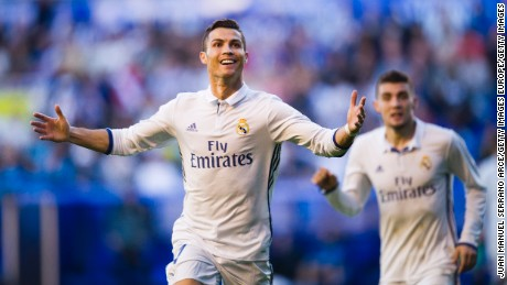 Cristiano Ronaldo signs new five-year deal at table-topping Real Madrid
