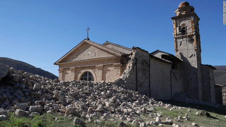 6.6 magnitude earthquake hits central Italy