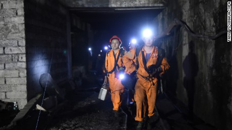 Rescue teams are still working to find 18 missing miners.