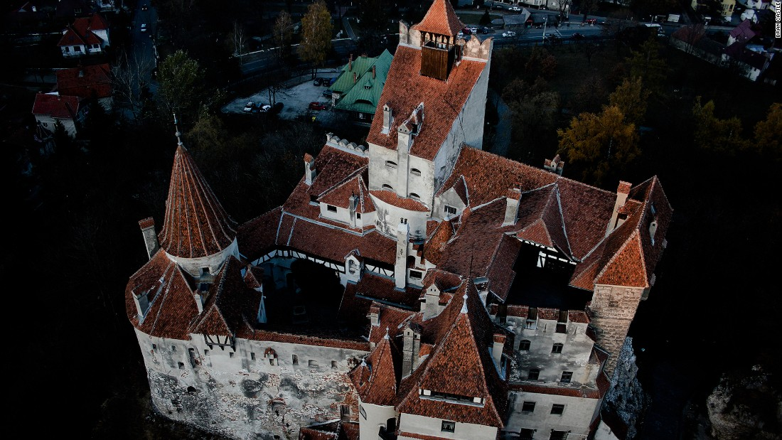 Stoker's Dracula is based on the 15th-century ruler, Vlad the Impaler, who ordered the brutal torture and death of tens of thousands of people during his reign. Though he did attack the village of Brasov, historians say he never actually lived in the castle.