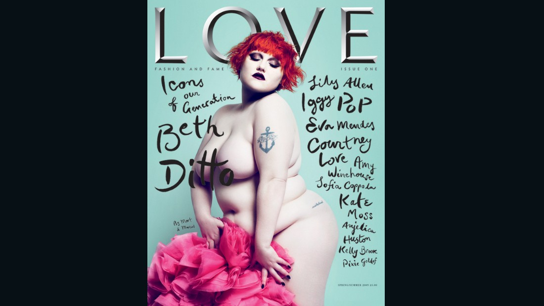 Beth Ditto on the cover of Issue 1