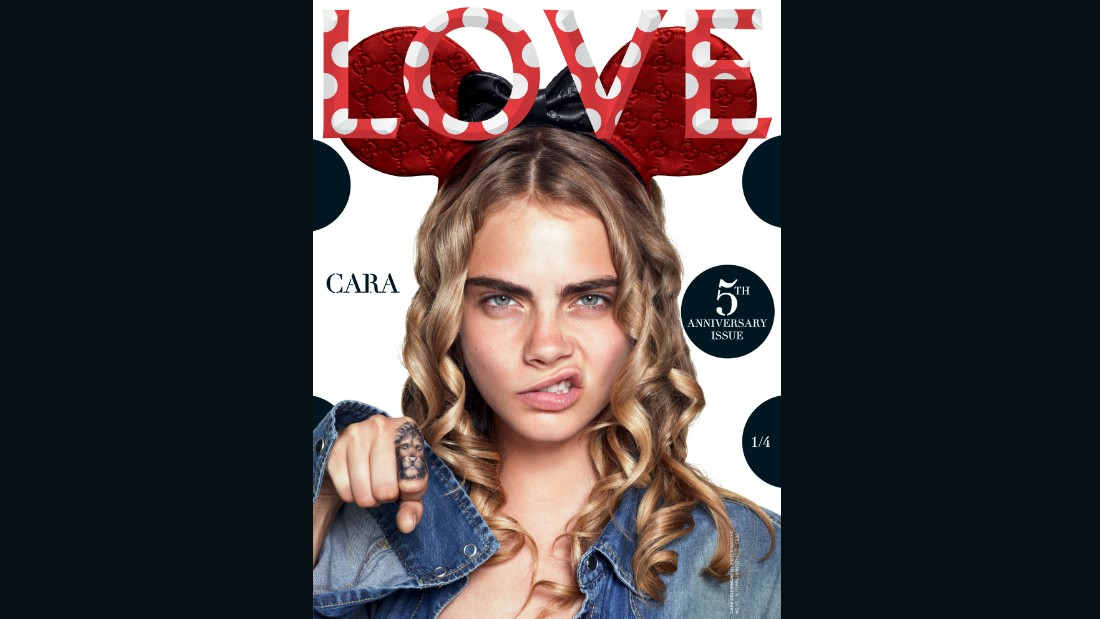 Cara Delevingne on the cover of Issue 5