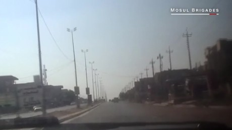 Inside ISIS-held Mosul: Secret film shows desolate scene